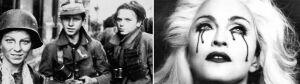 Minuta ciszy i pokaz kronik przed koncertem Madonny