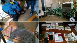 Zlikwidowano nielegalną fabrykę papierosów. Straty na 10 milionów zł