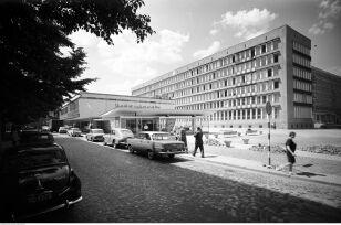 Pawilon meblowy na Przeskok, widok od strony ulicy Szpitalnej (1965-1975) Zbyszko Siemaszko, NAC