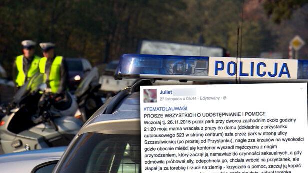 Policja bada sprawę TVN24 / Facebook.com