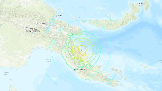 Trzęsienie ziemi w Papui-Nowej Gwinei. Ostrzegano przed tsunami