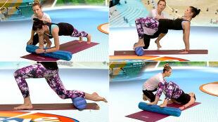 Wzmocnij mięśnie głębokie, ćwicząc pilates z wałkiem