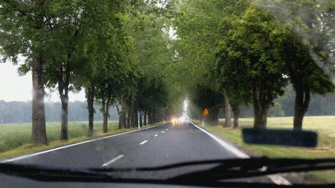 Większość dróg zaleje słońce, jednak miejscami będzie to deszcz