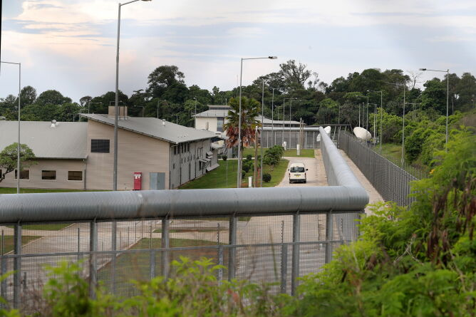 Ośrodek, w którym Australijczycy przejdą kwarantannę (PAP/EPA/RICHARD WAINWRIGHT)