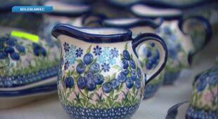 Bolesławiec słynie z ceramiki