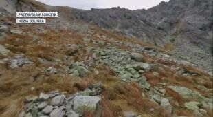 W Tatrach wieje halny