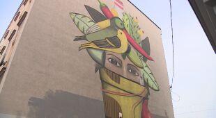 Mural antysmogowy powstaje też w Katowicach