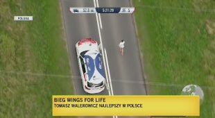 """Tomasz Walerowicz zwycięzcą """"Wings for Life"""" w Poznaniu"""